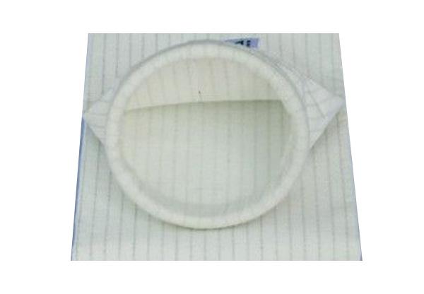 Antistatic needle felt of polyester fiber